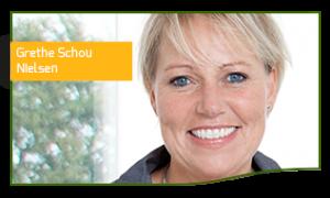 Grethe Schou Nielsen Klinikassistent og receptionist hos Tandlægehuset Horsens