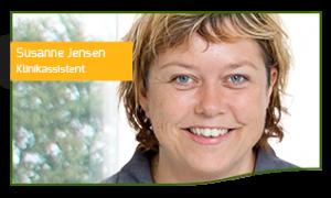 Susanne Jensen Klinikassistent hos Tandlægehuset Horsens
