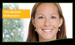 Tina Jakobsen Klinikassistent og receptionist hos TandlægeHuset Horsens