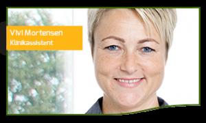 Vivi Mortensen Klinikassistent og receptionist hos Tandlægehuset Horsens