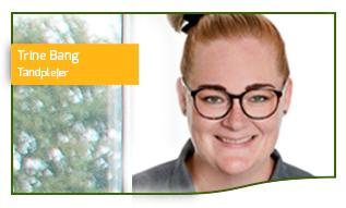 Trine Bang specialist i behandling af paradentose, tandplejer hos Tandlæge Huset Horsens
