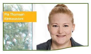 Pia Thomsen Klinikassistent