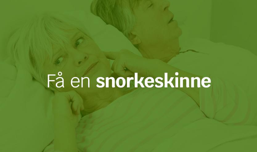 Få en snorkeskinne